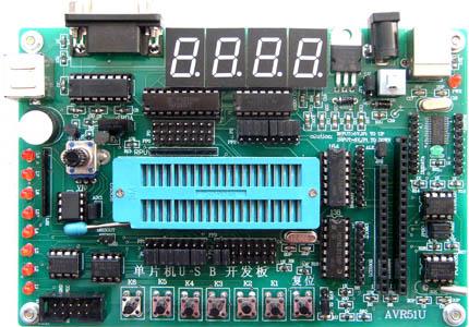 MCU51开发型单片机实验系统