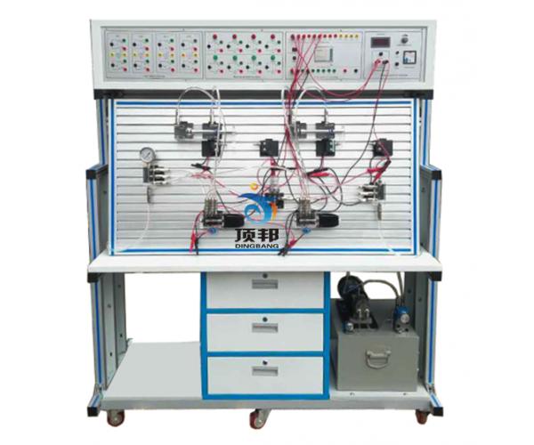 透明液压传动与PLC实训装置